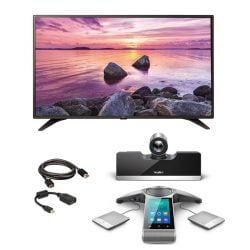 Yealink VC500 Full HD Video Bundle, 55 LG TV