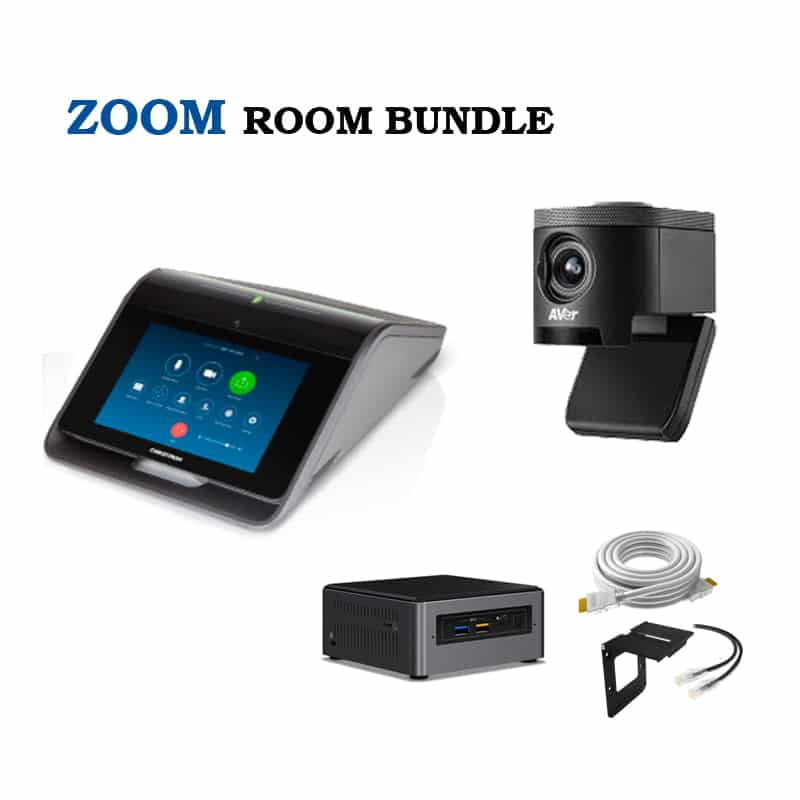 ZOOM Room Hardware Bundle - Crestron Mercury, CAM340 & NUC