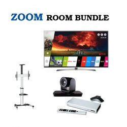 Zoom Bundle LG 55 Inch + Trolley