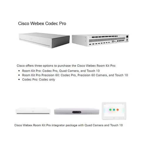 cisco webex roomkit pro