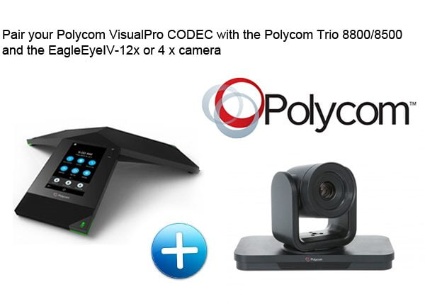 Polycom Trio VisualPro CODEC ONLY (Trio and camera available separately)