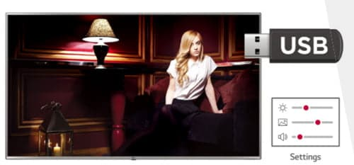 LG screen 65 UU640C USB