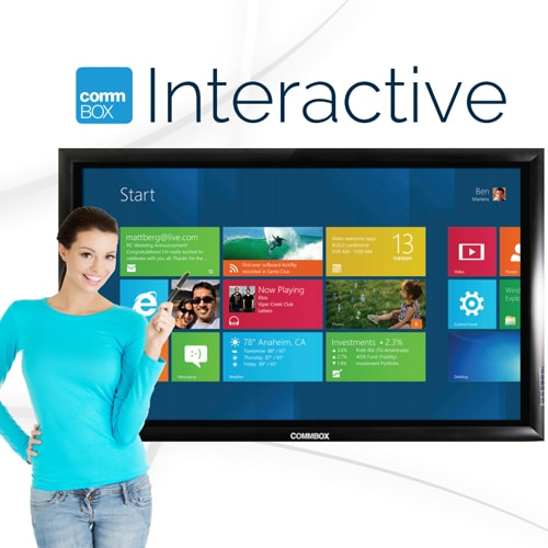 commbox interactive touchscreen