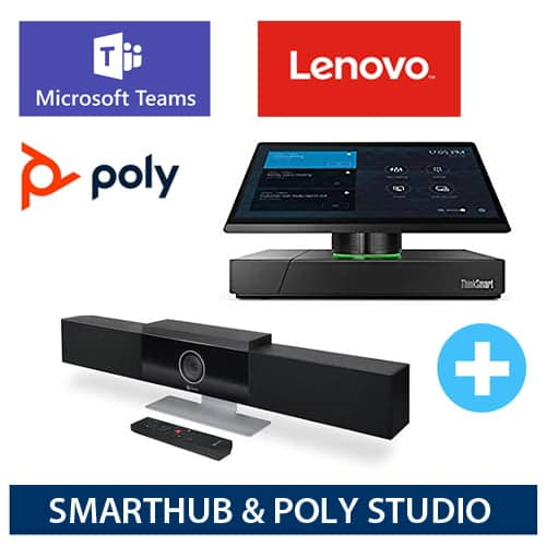 lenovo smarthub and POLY STUDIO