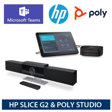 poly Hp ms teams rooms bundles 7200-STUDIO-HPSRS